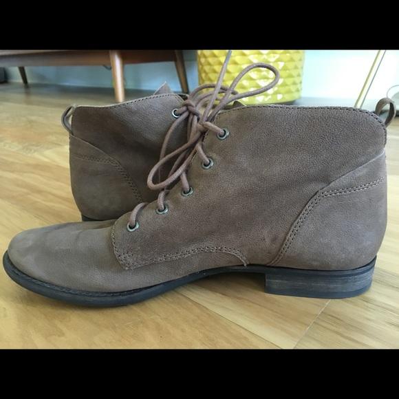 9e2c17ac6e6e5 Sam Edelman Mare lace-up ankle boots brown 11. M 5b8c1ffe035cf147ad672857